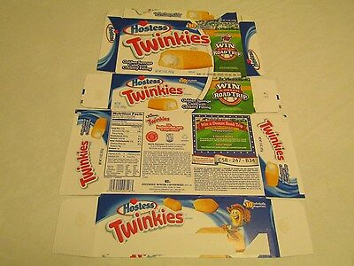 Hostess  Interstate Brands  Twinkies Road Trip Empty Collectible Box