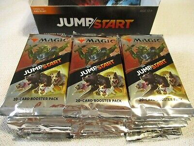 24 Jumpstart Booster Packs JMP MTG New Sealed Draft Themed Pack Box Quantity
