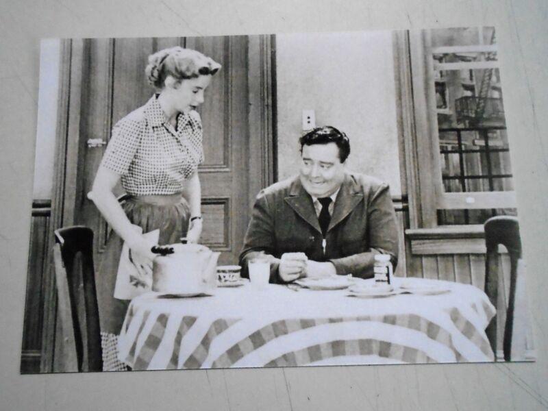 "Honeymooners - Sepia tone photo - Kitchen - new cond./ 6 1/4 x 9"""