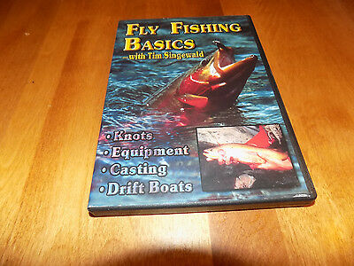 - FLY FISHING BASICS Fly-Fish Casting Knots Drift Boats Fisherman Fishing DVD