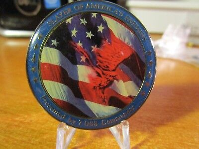 USAF 7th Operations Support Squadron 7 OSS Commanders Challenge Coin #2751