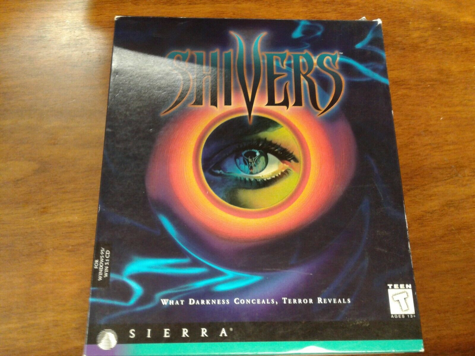 Computer Games - Shivers pc computer  game rated teen