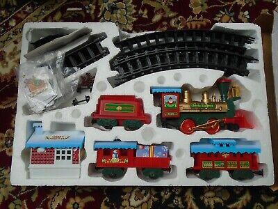 Vintage Christmas Musical Train Set Scientific Toys LTD Tracks MIB