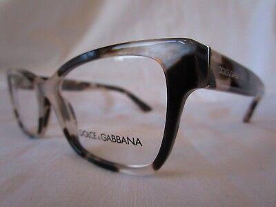 DOLCE & GABBANA D&G EYEGLASS FRAME DG3274 3120 PEARL HAVANA 52 MM NEW AUTHENTIC