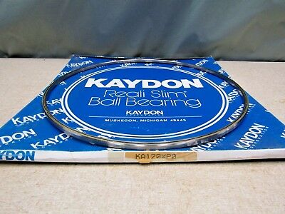 Kaydon Ka120 P0 Thin Section Bearing 12 Bore 12.5 Od .25 Wide