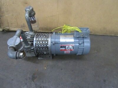 Dayton Speedaire 4z469 2067-v108 Vacuum Pump 1hp 230v 3ph 3n860 34 In 34 Out