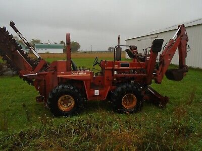 Ditch Witch 7510 Trencher Backhoe Deutz Diesel Powered