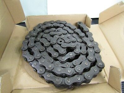 Link Belt 100 Roller Chain 100 Fr 1-14 Pitch Riveted 10 Feet Usa