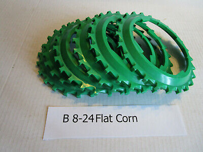 Used Lustran Corn Plates For Flat Seeds Used In John Deere 71 Planters