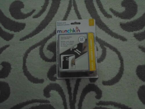 Munchkin Drawer And Cabinet Latches 12 Pack Brand NEW