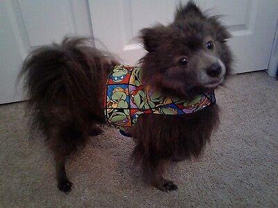 Dog Vest Harness - Ninja Turtles - Size M