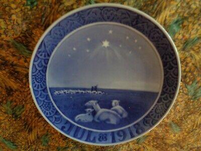 Royal Copenhagen CHRISTMAS PLATE 1918 63