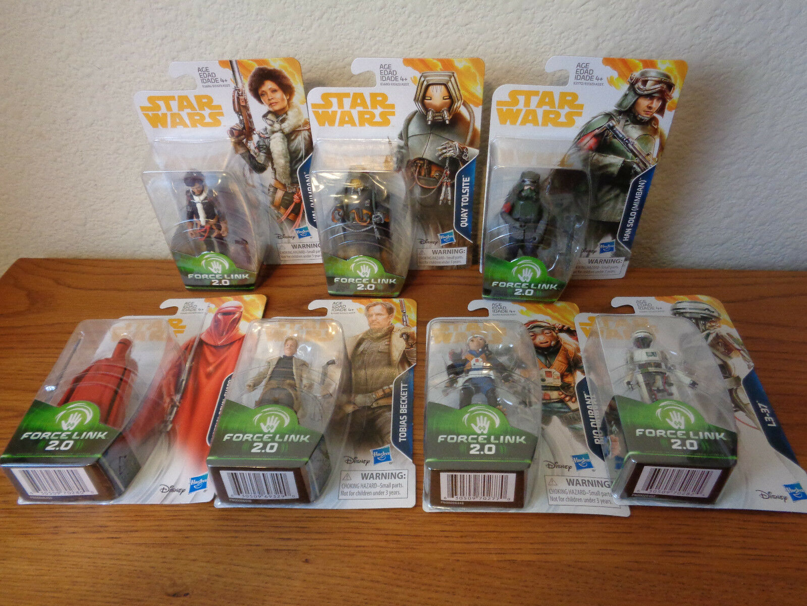 Star Wars 3.75 Solo Wave 4 Set TOBIAS VAL RIO DURANT L3-37 ROYAL GUARD IN STOCK Film, telewizja i gry wideo Figurki akcji i z filmów