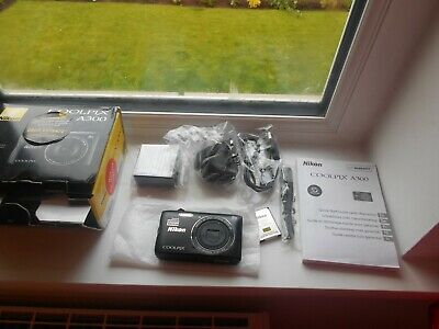 Nikon COOLPIX A300 20.1MP Digital Camera - Black