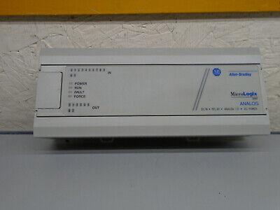 1761-l20bwb-5a Allen Bradley Micrologix 1000 Plc 1761l20bwb5a  W543