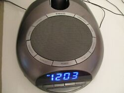 Homedics AM/FM Sound Spa Clock Radio Alarm Nature Sounds Projection SS-4500