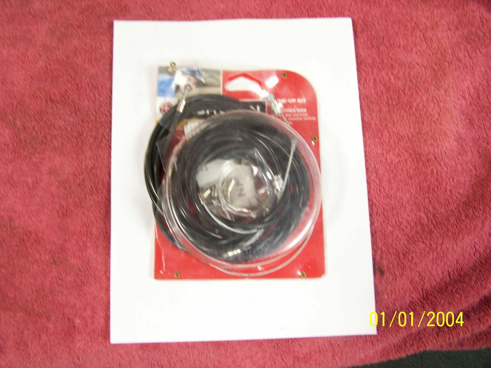 Schwinn SW76193-4 Brake and Derailleur Cable Repair Set Black