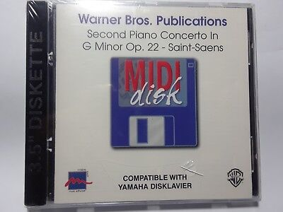 YAMAHA DISKLAVIER ~ Second Piano Concerto In G Minor Op.22 - Saint-Saens - MIDI for sale  Shipping to India