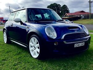 2002 Mini Cooper S Super Charged 6 Speed Manual Hatch long Rego E53 Leumeah Campbelltown Area Preview