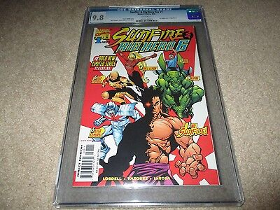 Sunfire & Big Hero 6 #1 CGC graded 9.8 NM/MT 1998 Marvel white pages ()