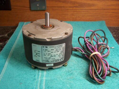 York Luxaire OEM 024-27551-000 condenser fan motor 1/8 HP 208-230V 1075 RPM