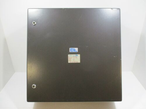 E+l Wall Mount Industrial Enclosure 24 X 24 X 8 Never Installed Dust Proof