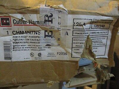 Cutler Hammer Chm4n7ns 125 Amp 1 Phase 120240 Volt Meter Socket- New