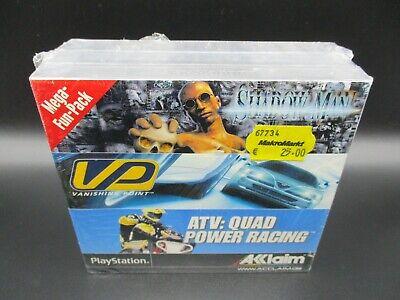 ACCLAIM MEGA-FUN-PACK Shadow Man PS1 Playstation 1 PSX PAL DE Sealed