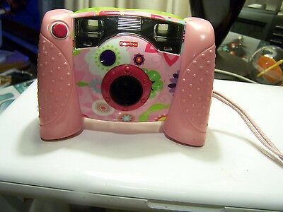 FISHER-PRICE DIGITAL CAMERA PINK WITH FLOWERS