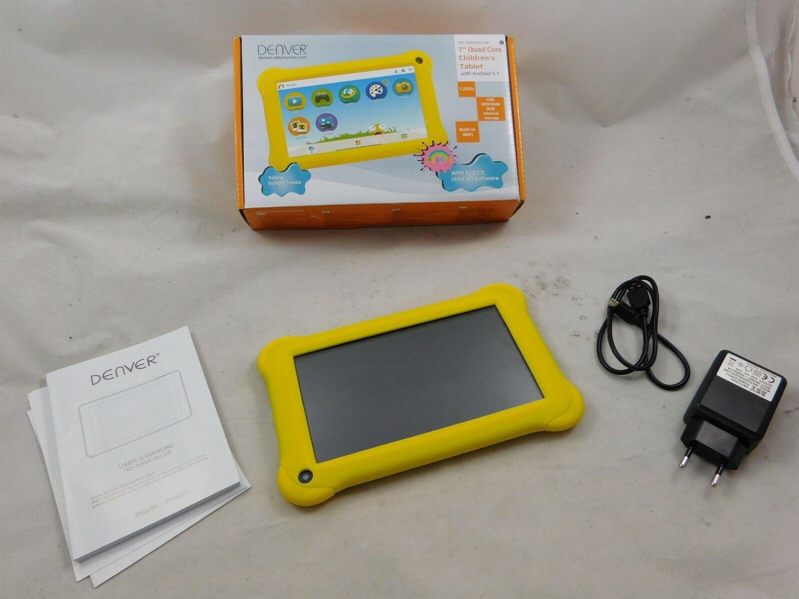 "DENVER Kindertablet TAQ-70262K 17,78 cm ( 7"" ) Tablet 8GB mit Android WLAN c"
