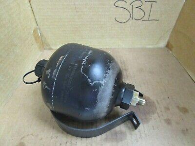 Hydac Diaphragm Accumulator 03556108663 3000 Psi 200f Volume 45 Cubic Inches
