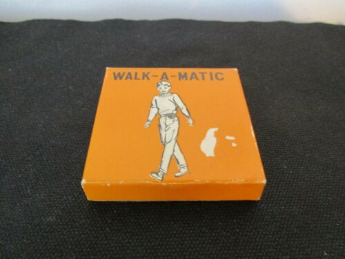 Vintage Walk - A - Matic  In Original Box With Original Instructions Pedometer
