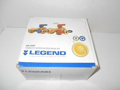 Legend Tankless Water Heater Valve Kit Lead-free 34 Ips New Other