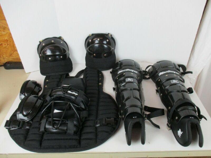 MacGregor Umpire Equipment Set Complete Set Black *Great Condition*