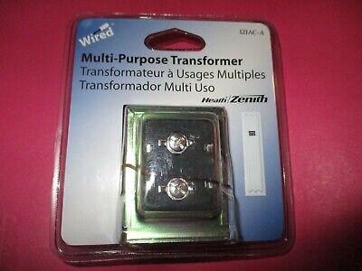 Nip Heath Zenith Wired Multi Purpose Transformer Model 121ac-a New