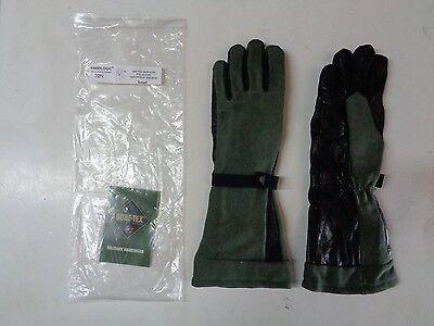 New Handlogic Gore-tex Pol Fuel Handlers Leather Glove 70n Small Sage Green Jp-8