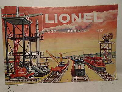 ORIGINAL LIONEL 1958 TOY TRAIN CATALOG