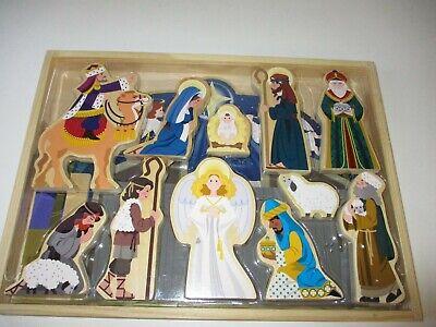 Melissa & Doug Wooden XMAS Nativity Set