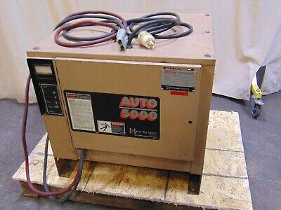 24 Volt Hertner Industrial Forklift Utility Battery Charger 680 Ah 3 Ph 220460v