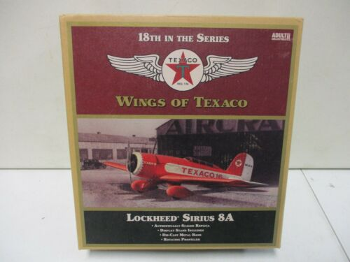 Wings of Texaco Lockheed Serious 8A 18th in Series