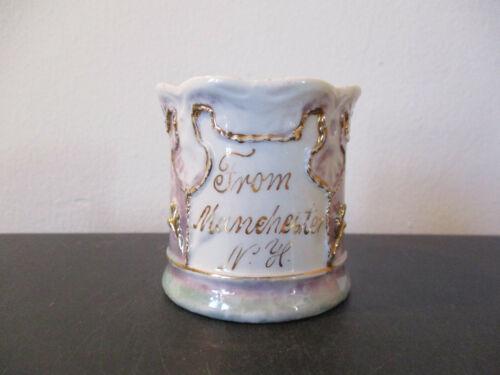 Circa 1900 Souvenir Porcelain Cup Mug Manchester New Hampshire Germany