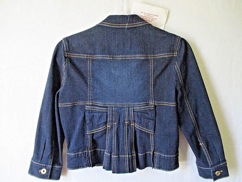 BABY PHAT NY Designer Sample Original Jean Jacket Girls/Juniors Size Medium