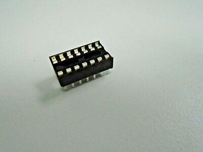 14 Pin Dip Ic Chip Socket - Replacement Socket 16 Pin Tab Aitron T02-14 Pack 5