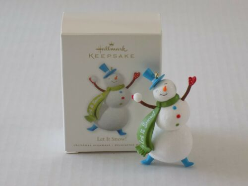 Hallmark Keepsake Ornament 2010 Let It Snow! Snowman