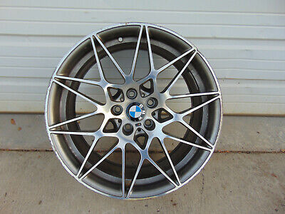 2017 BMW M3 COMPETITION WHEELS ZCP COMP PACKAGE 666M REAR 10X20 M4 2015-2018 OEM