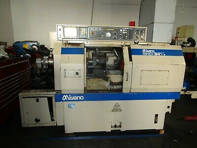 Miyano Bnd-34t Cnc Sub Turret Live Tool C Axis Lathe - See Video