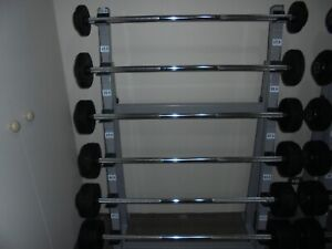 LIFTING BARS STRAIGHT , FIXED WEIGHTS