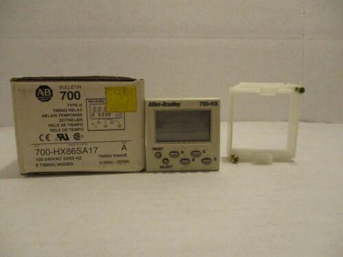 Allen-Bradley Type H Timing Relay 700-HX86SA17 Ser. A NEW