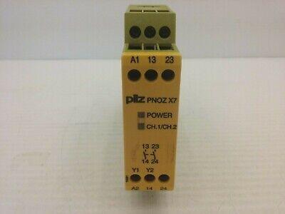 Pilz Pnoz X7 Safety Relay 24vacdc 2 No 5-6amp