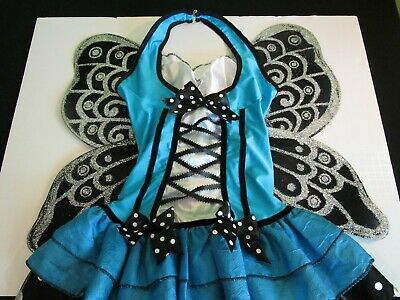Cute Modest Halloween Costumes (BLUEBELLE FAIRY Halloween Dress Costume * Size EXTRA SMALL (2-4) * Cute)